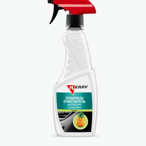 Полироль-очиститель пластика салона с матовым эффектом. Запах ананас