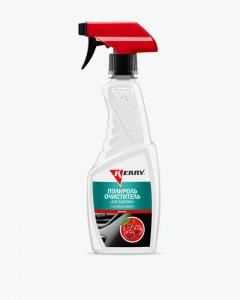 Полироль-очиститель пластика салона с матовым эффектом. Запах вишня