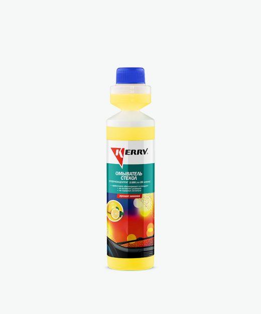 Омыватель стекол. Аромат лимона. Суперконцентрат KERRY KR-338