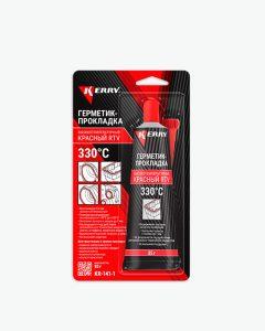 Герметик-прокладка высокотемпературный красный RTV
